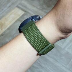Dây đeo đồng hồ Nylon Coros Apex 46mm / Apex Pro