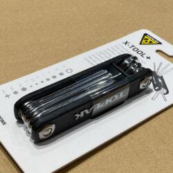 Bộ dụng cụ cầm tay mini tool Topeak X-TOOL+ (11 chức năng) - Đen