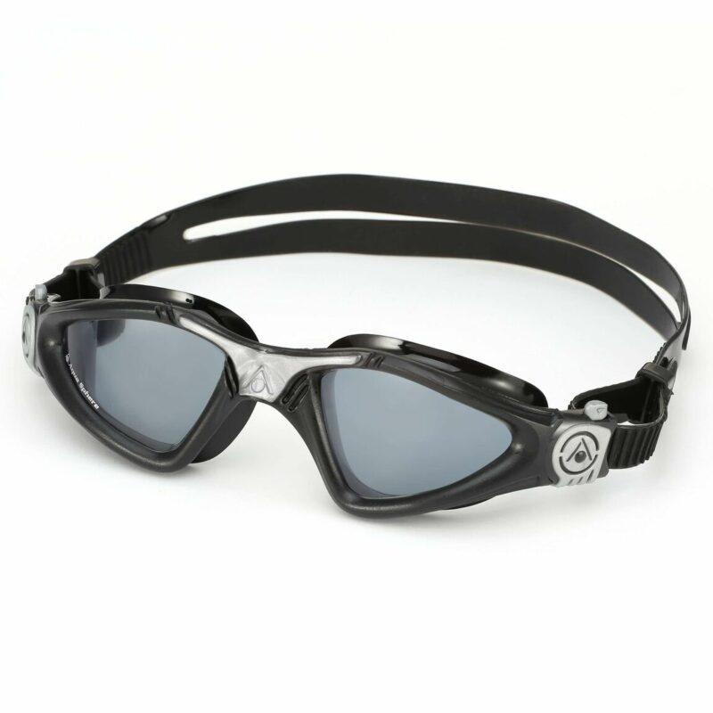Kính Bơi Aqua Sphere Kayenne - Black/Silver (Smoke Lens)